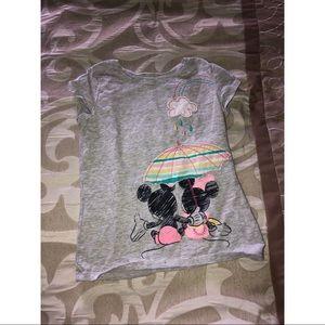 Little girls Minnie Mouse short sleeve 🐭